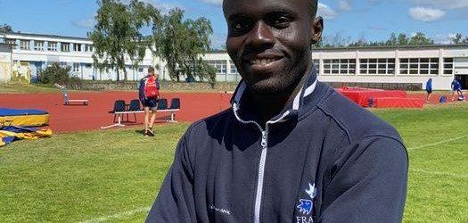 Charles-Antoine Kouakou Champion du monde sur 200 mètres