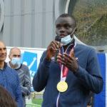 ESAT des Muguets : la fête à domicile pour Charles-Antoine Kouakou